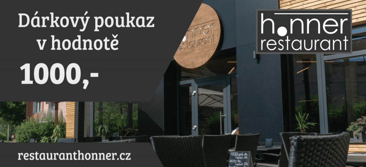 Restaurace Honner | Dárkový poukaz